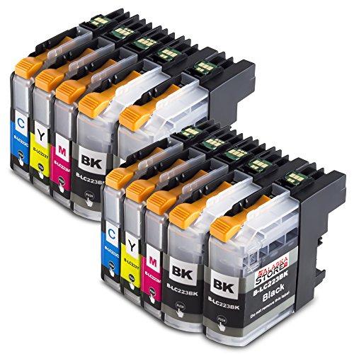 10x Druckerpatronen Komp. für Brother LC223xl LC223 XL LC-223 XL LC-223XL für...