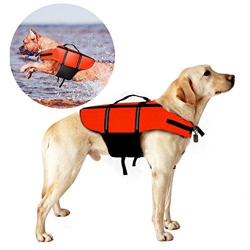 poppypet Hundeschwimmweste, Doggy Aqua-Top Schwimmweste Schwimmtraining für...