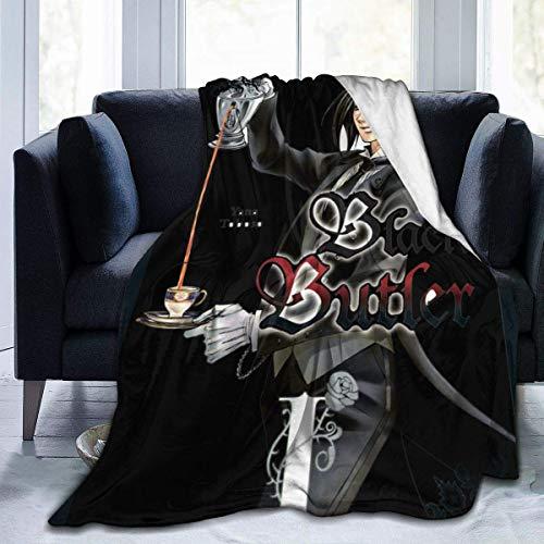 Liquor S Ultraweiche Flanell Fleece Decke für Kinder Jungen Erwachsene, Black...