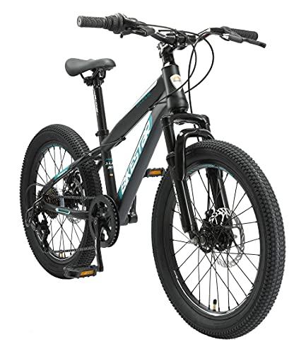 BIKESTAR Kinder Fahrrad Mountainbike 7 Gang Shimano, Scheibenbremse ab 6 Jahre  ...
