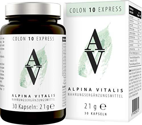 Alpina Vitalis Colon 10 Tage Express-Kur, Darmreinigung Darmkur für...