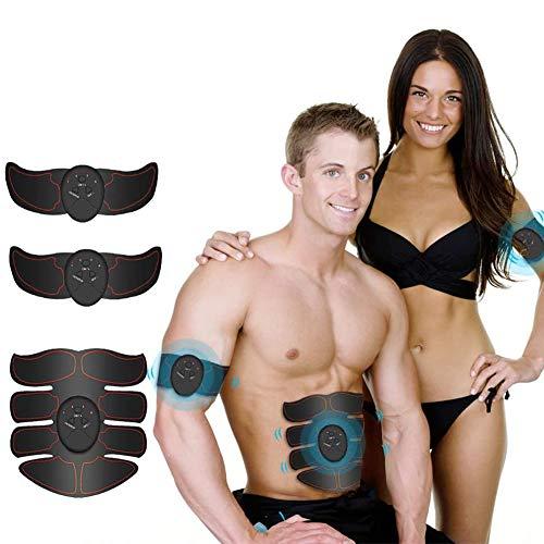Biddtle Muskelstimulator Bauchmuskeltrainer Mit 6 Modi Und 10 Intensitäten...