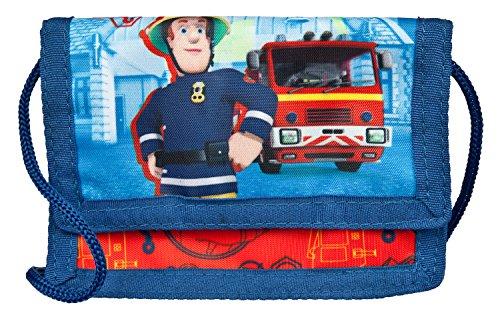 Undercover FSTU7000 - Feuerwehrmann Sam Geld- und Brustbeutel, mit...