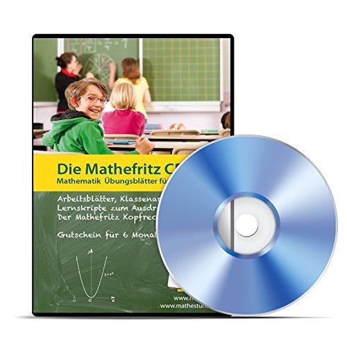 Die Mathefritz CD für Gymnasien, Gesamtschulen, Realschulen für die Klassen...
