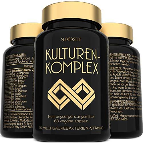 Probiotika Kulturen Komplex - Hochdosiert 20 Mrd. Lebende KBE mit 15...