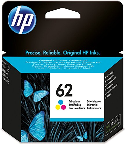 HP 62 Farbe Original Druckerpatrone für HP OfficeJet 200, 5740; HP ENVY 5540,...