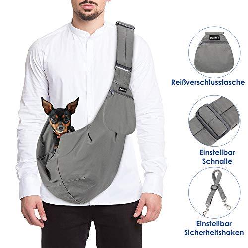 SlowTon Tragetuch Hund, Katze Haustier Hand Schleuderträger Schultertasche...