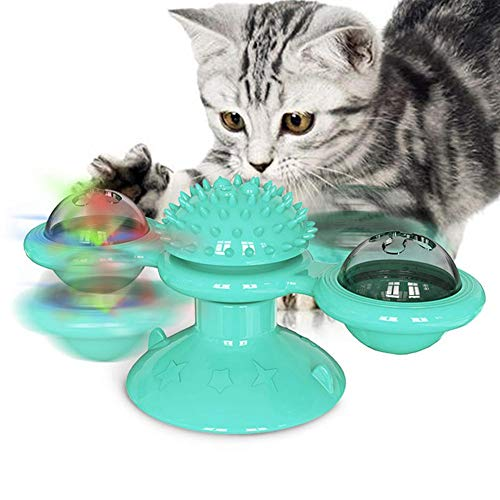 cedarfiny Katzenbürste Katzenspielzeug Cat Self Groomer Haustierspielzeug...