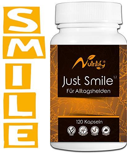 JUST SMILE - für ALLTAGSHELDEN - Mit B6² und B12³ für das Nervensystem und...