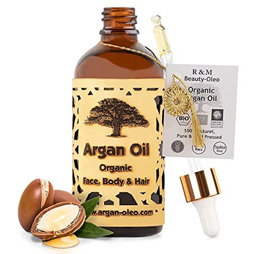 SEHR GUT IM TEST - R&M Beauty-Oleo Bio Argan-Öl aus Marokko - Fair Trade -...