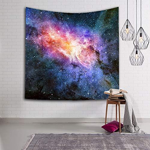 WJH 3D Digital Painting Sky wirbelnden Tapisserie Wandbehang Teppich Strandtuch...