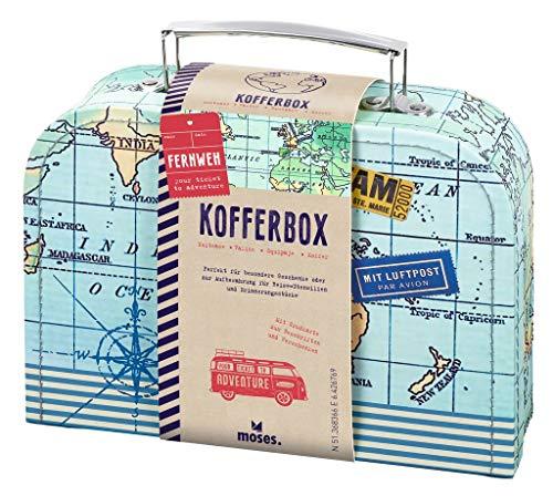 moses 82440 Fernweh Koffer Allzweckbox   Für Geldgeschenke und kleine...