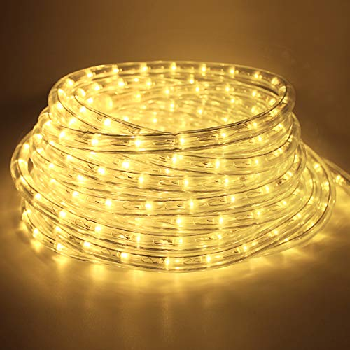 COCOMIA 6 Meter LED Lichterschlauch Außen, Wasserfest LED Schlauch für Auße,...