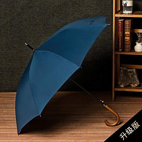 KETONG Business Regen Wind Proof Holz Lang Griff Dach großer Sonnenschirm gegen...