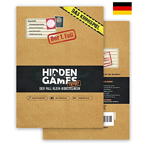 Hidden Games Tatort Krimispiel Fall 1 - Der Fall Klein-Borstelheim - Escape Room...