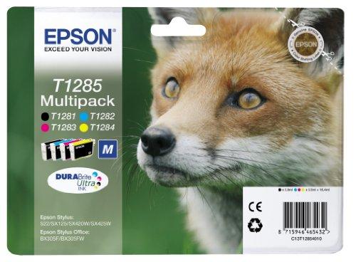Epson Original Durabrite Ultra, Multipack T1285 Tintenpatrone. Sortierte Farben...
