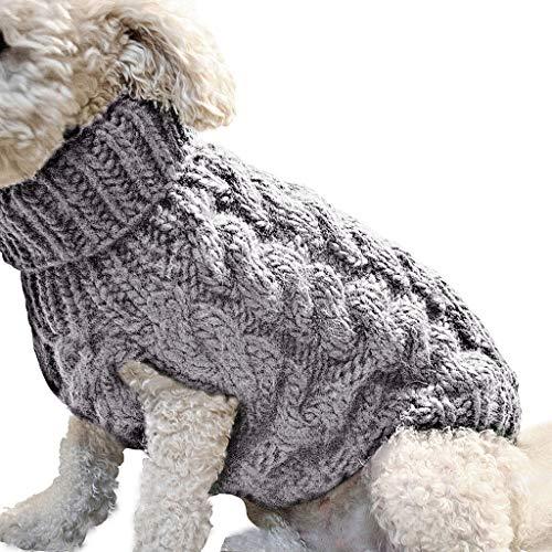 BURFLY Mode Haustier Hundehemd Kaninchen Drucken Warme Mantel Sweatshirt Weste...