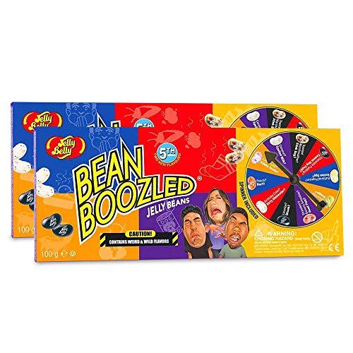Jelly Belly Bean Boozled Glücksrad, 2er Pack mit je 100 g Bohnen
