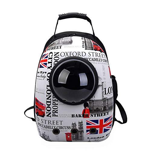 Cat Dog Rucksack, Puppy Pet Carrier Front Bag mit atmungsaktivem Head Out Design...