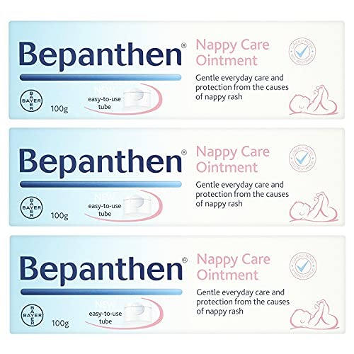 THREE PACKS of Bepanthen Ointment x 100g