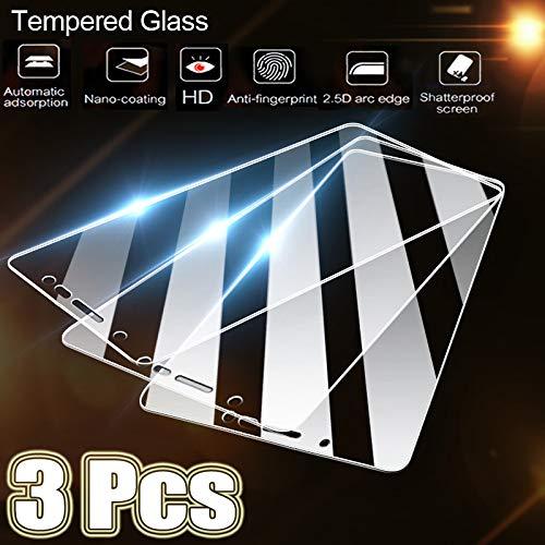 KDLLK Gehärtetes Glas mit voller Abdeckung, für Huawei P40 P20 P30 P10 Lite...