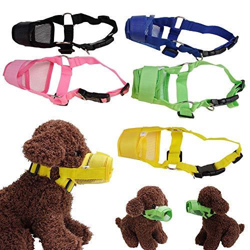 Ordertown Maulkorb für Hunde und Haustierzubehör, verstellbare Maske aus...