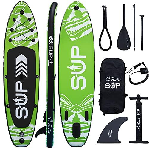 Tronitechnik Sup, Aufblasbares Stand Up Paddle Board, Yoga Board, Surfboard,...