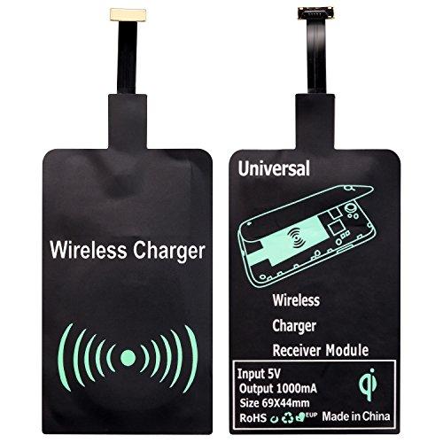 Qianyou Qi Empfänger, Universal Micro USB Shnittstelle Sehr dünn Wireless...
