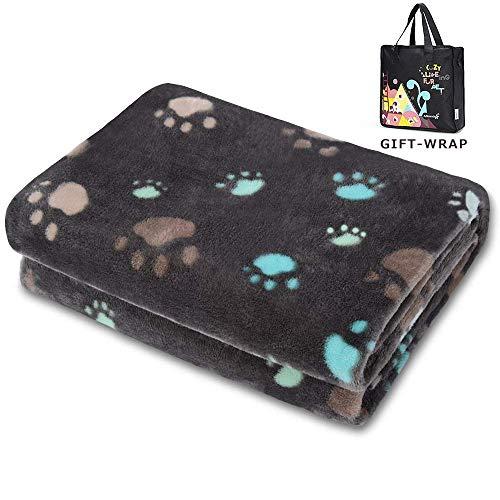 Allisandro Super Softe Warme und Weiche Decke für Haustier Hundedecke...