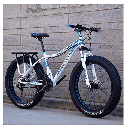 NENGGE Erwachsenen Mountainbike, Jugend Damen Hardtail MTB, Rahmen aus...