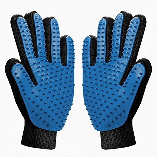 SOELAND Fellpflege-Handschuhe, Update-Version, Enthaarungshandschuh,...