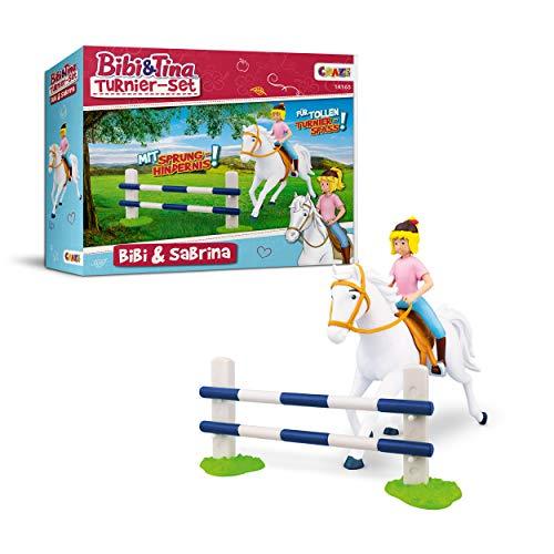 CRAZE BIBI & TINA Turnierset mit Reiterin Pferd Bibi und Sabrina inkl....