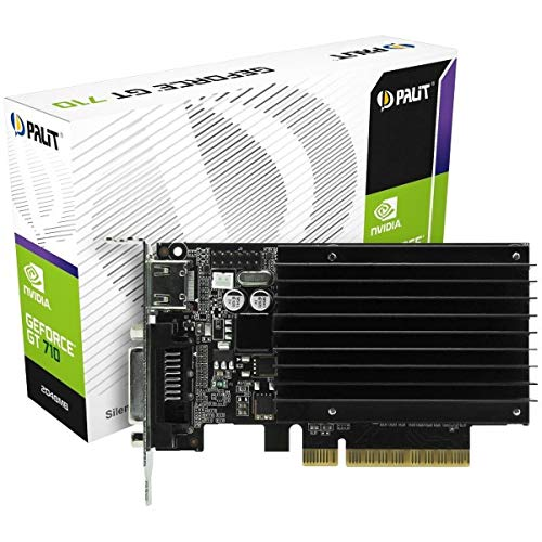 Palit NEAT7100HD46H GT710 2048MB Graphic Card NVIDIA (PCI-e GDDR3, VGA/DVI/HDMI,...