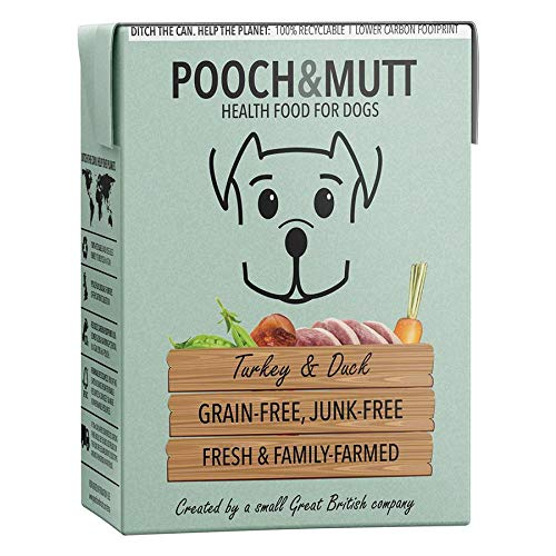Pooch & Mutt Nassfutter Truthahn & Ente (Türkei & Ente)