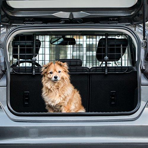 Heldenwerk Universal Kofferraum Trenngitter für Hunde - Auto Hundegitter zum...