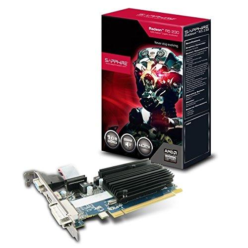 Sapphire 11233-01-20G GRA PCX AMD Radeon R5 230 passiv Grafikkarte (PCI-e, 1GB...