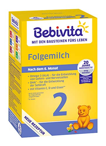 Bebivita Folgemilch 2, 500 g