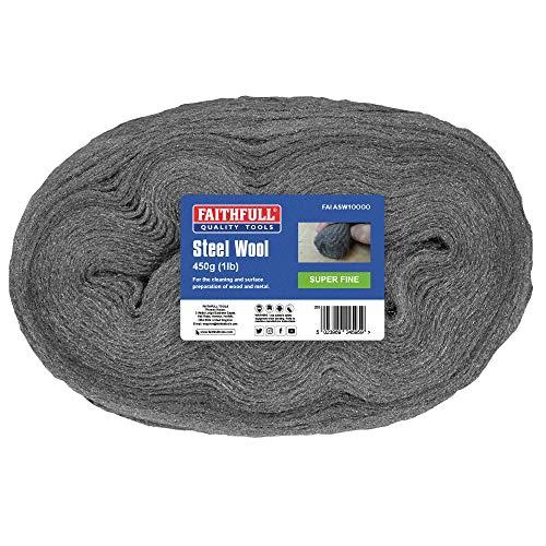Faithfull - Stahlwolle 450G 0000 Superfein - FAIASW1OOOO