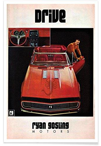 "JUNIQE® Autos Filme Poster 20x30cm - Design ""Drive"" entworfen von Ads..."