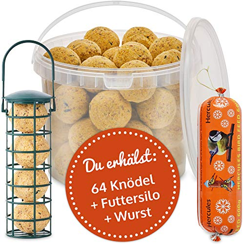 zooprinz Frische Meisenknödel ohne Netz – Ideal für alle Wildvögel als...