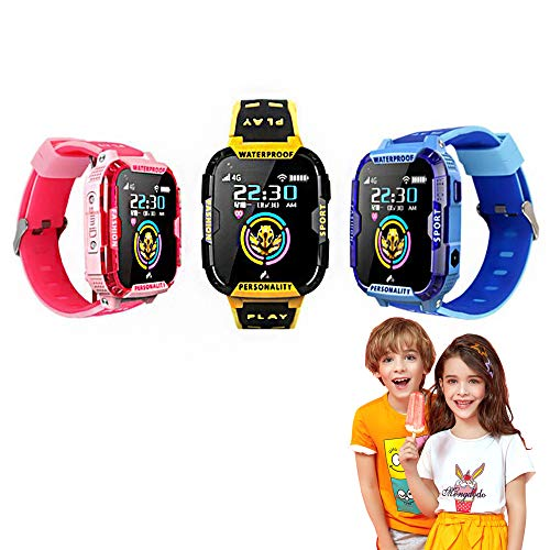 CSYY-YJ 4G Videoanruf Kinder Smart Watch, GPS-Positionierung Sport-Uhr-Kinder...