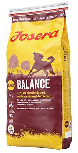 JOSERA Balance, fett- und eiweißreduziertes Hundefutter für Senioren,...