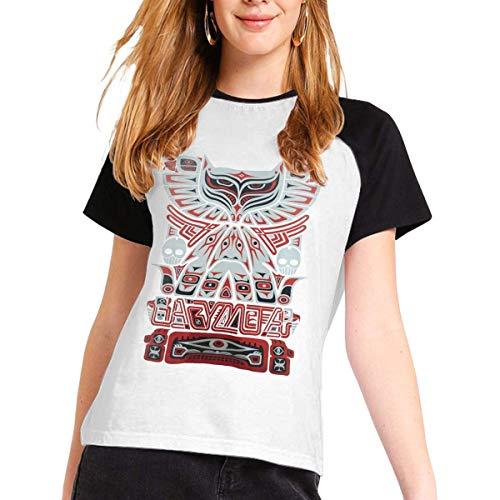 Babymetal Womens Short Sleeve Raglan Baseball T-Shirts Cotton Casual Print...