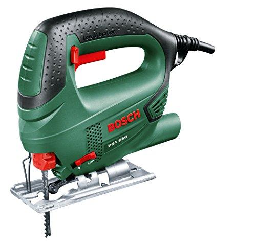 Bosch Stichsäge PST 650 (500 Watt, Schnitttiefe in Stahl/Holz 4mm/65mm, im...