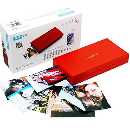 SereneLife PICKIT22BK Mobiler Sofortbild Fotodrucker Wireless Farbe von IOS oder...