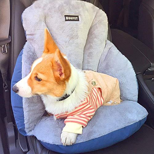 waterfaill Tragbarer Hundeautositz Pet Booster Seat, Auto-Vordersitz Pet...