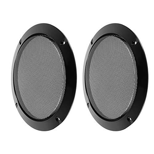 MILISTEN 2Pcs Audio Lautsprecher Abdeckung Grille Protector Dekorative Kreis...