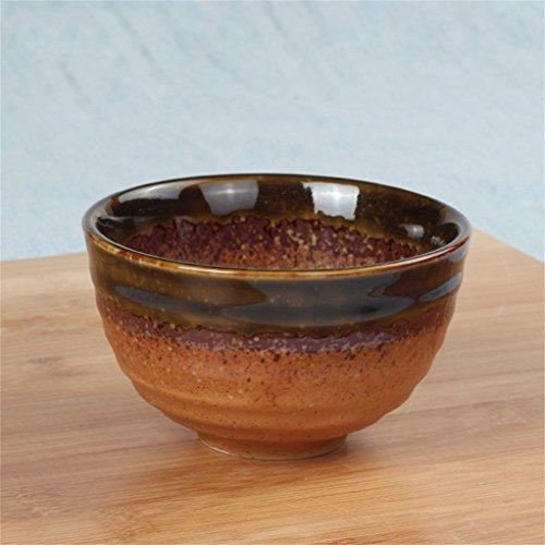 Gxy 4,5 Zoll Keramik Reisschale Matcha Bowl Dessertschüssel Kleine...