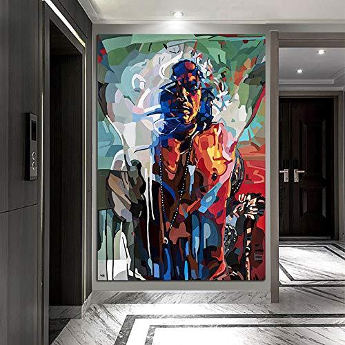 Geiqianjiumai Poster Interior Power Moderne Kunst Grafik Dekoration zuhause...