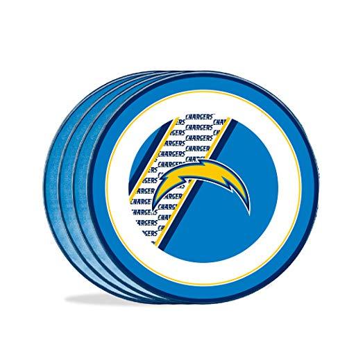 Teller, Design Entenhaus NFL LOS ANGELES CHARGERS, 25,4 cm, Melamin-Kunststoff,...